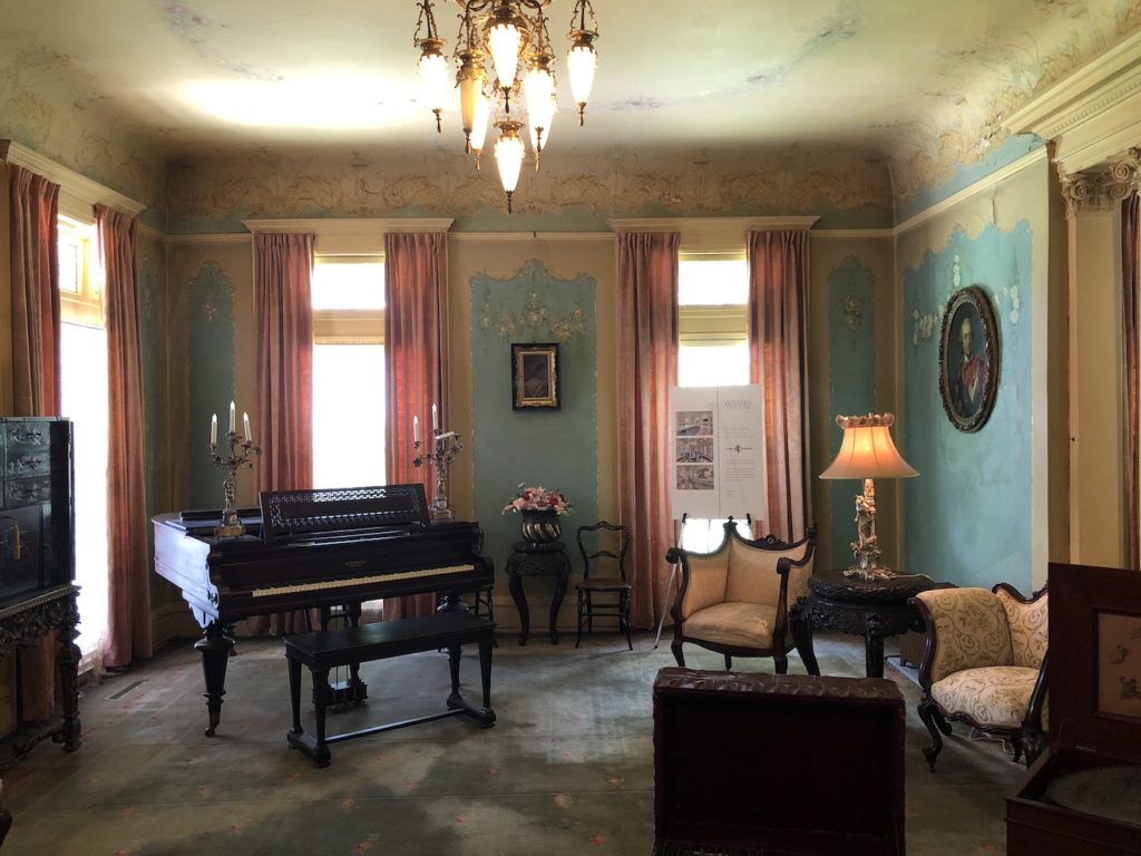 Inside the Overholser Mansion - photo by Dennis Spielman