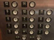 The Skirvin Hotel's Elevator - photo by Dennis Spielman