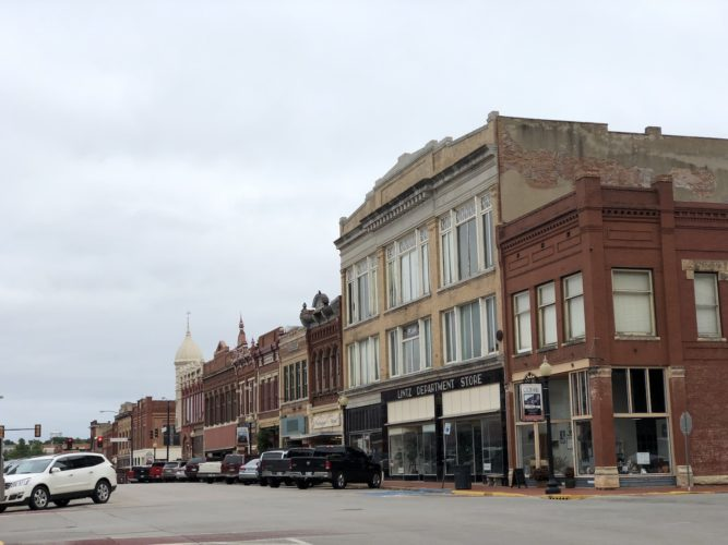 Downtown Guthrie - photo by Dennis Spielman