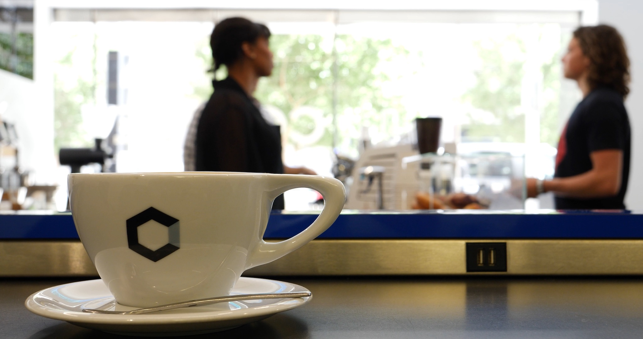 Coffee at Clarity Coffee - photo by Dennis Spielman