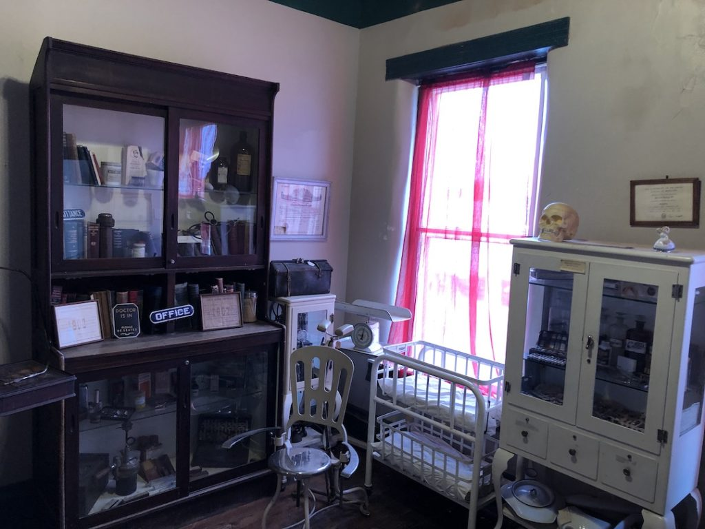 Inside the Lincoln County Museum of Pioneer History - photo by Dennis Spielman